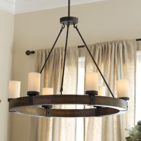Arturo 6 Light Round Chandelier Ballard Designs