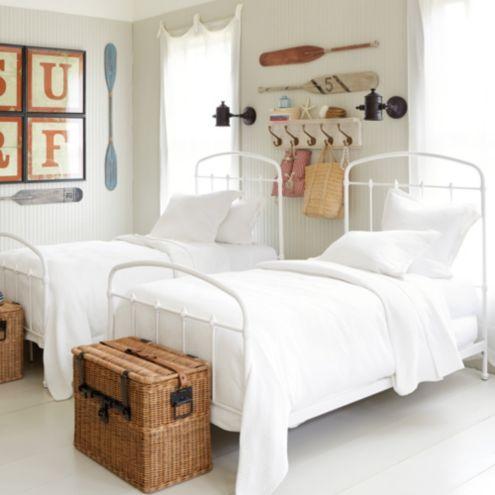 Lorraine Metal Bed - Twin Bed Ballard Designs