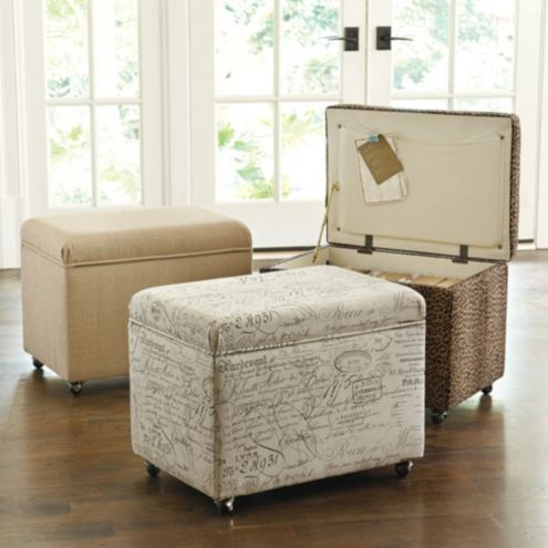 - File Storage Ottoman Ballard Designs