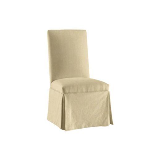 Suzanne Kasler Linen Parsons Chair Slipcover