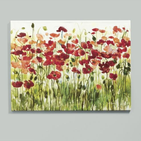 Sensational Sea Of Poppies Giclee Print Ballard Designs Largest Home Design Picture Inspirations Pitcheantrous