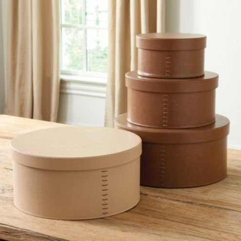 Remi Round Boxes - Set of 3