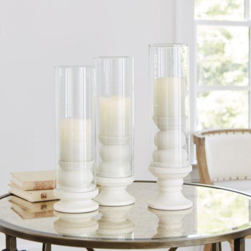Solene Porcelain Candleholders