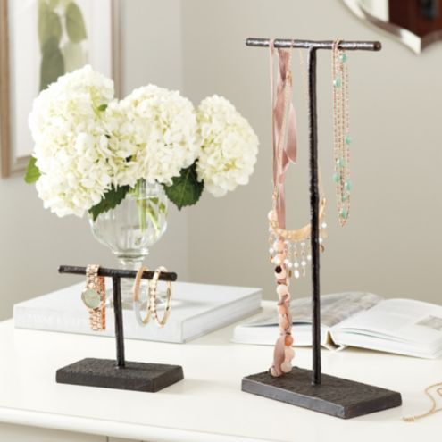 Hammered Jewelry Stands