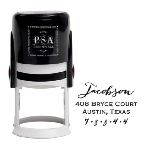 Jacobson Custom Stamp