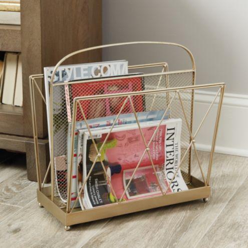 Inez Magazine Rack