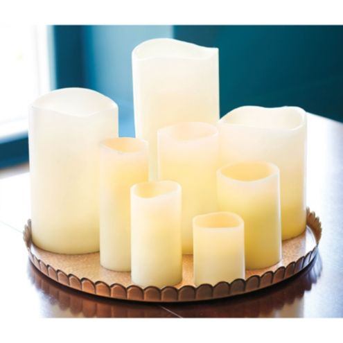 Remote Control Flameless Wax Candle