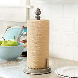 artichoke under cabinet paper towel holder ballard designs. Black Bedroom Furniture Sets. Home Design Ideas
