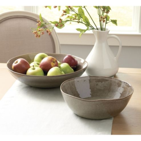 Willow Serving Bowls - Set of 2