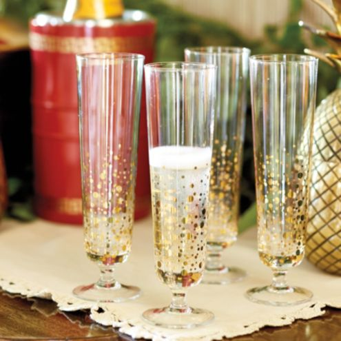Bunny Williams Bubbly Glasses | Set of 4