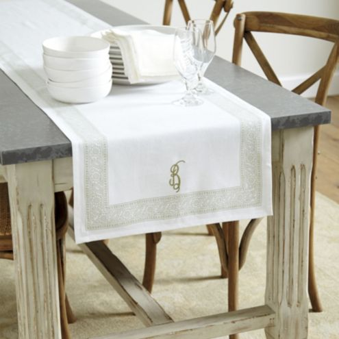 Edie Block Print Table Runner