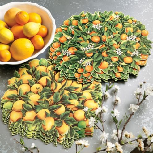 Citrus Placemats - Set of 4