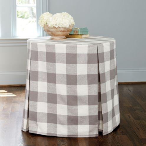 Buffalo Check Paneled Tablecloth