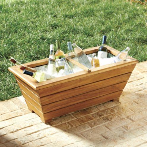 Farm Trough Beverage Tub