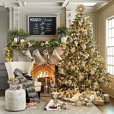 christmas decor holiday decorations ballard designs noble fir tree traditional christmas trees by