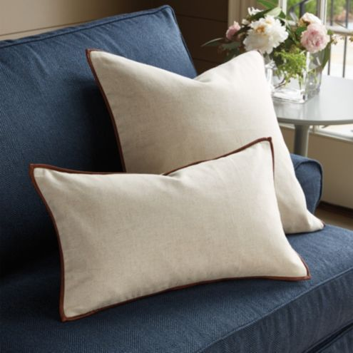 Ethan Leather Accent Pillow