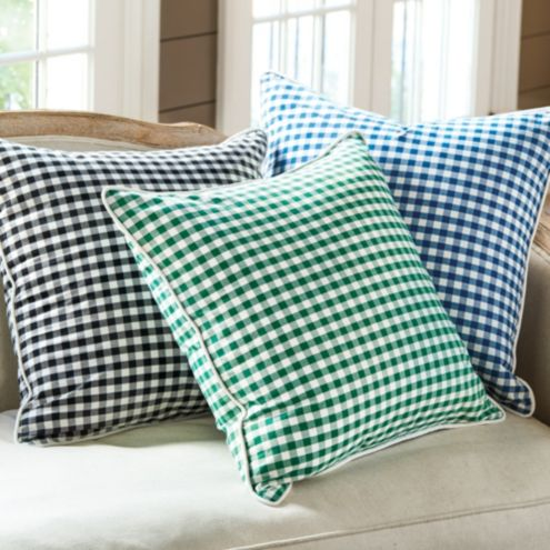 Ellery Gingham Pillow