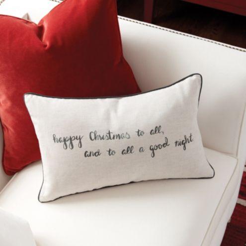 Night Before Christmas Pillow
