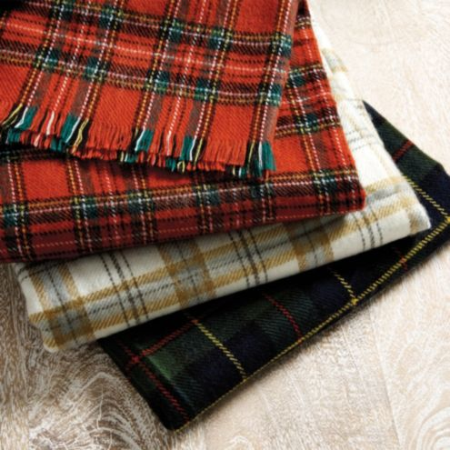 Suzanne Kasler Plaid Throw
