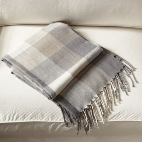 Kennedy Plaid Throw