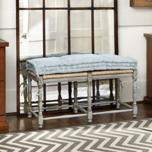 Farmhouse 2-Seat Bench Cushion