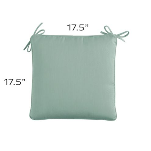 Chair Cushion with Knife Edge Welts - F