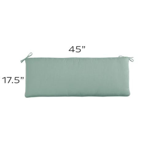 Bench Cushion with Knife Edge - W