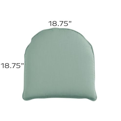 Chair Cushion with Knife Edge Welts - H