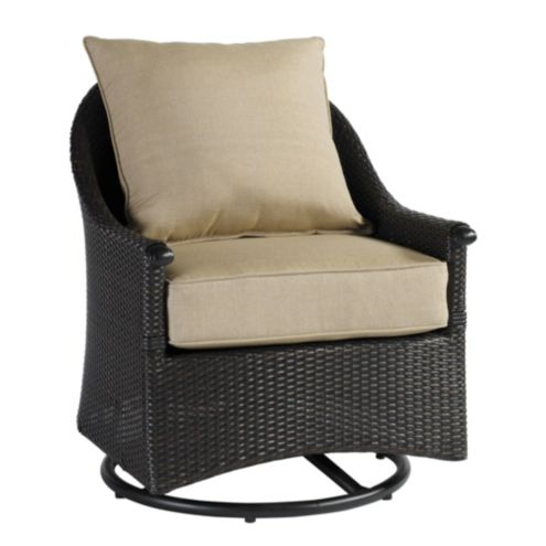 Amalfi Swivel Glider Club Chair Replacement Cushion -