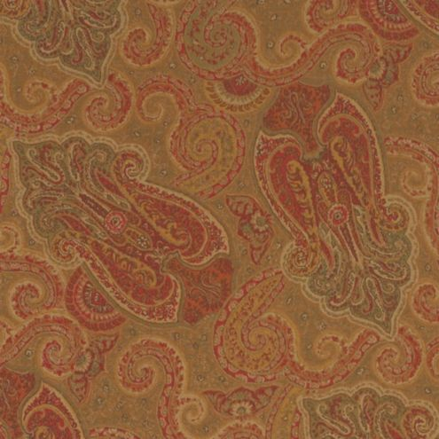 Ashford Paisley Fabric by the Yard