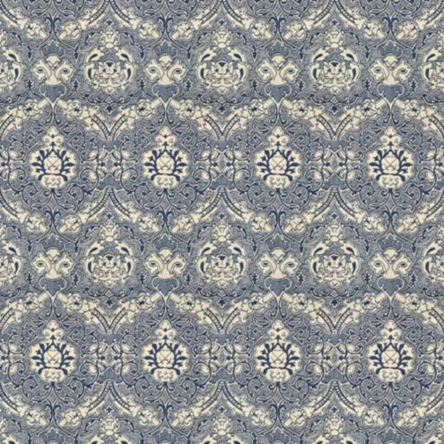 Arrezzo Blue Fabric by the Yard