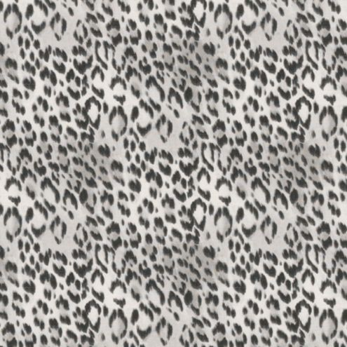 Cheetah Gray Fabric By The Yard
