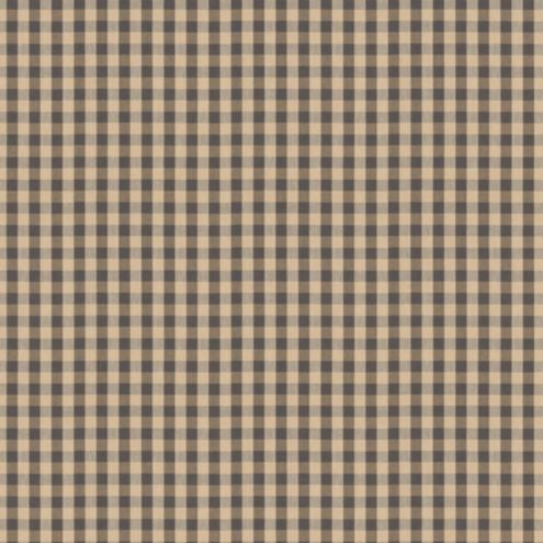 Small Check Gray Fabric by the Yard