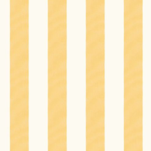 Canopy Stripe Butter/White Sunbrella® Fabric by the