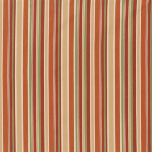 Seneca Stripe Rust Sunbrella® Fabric by the Yard