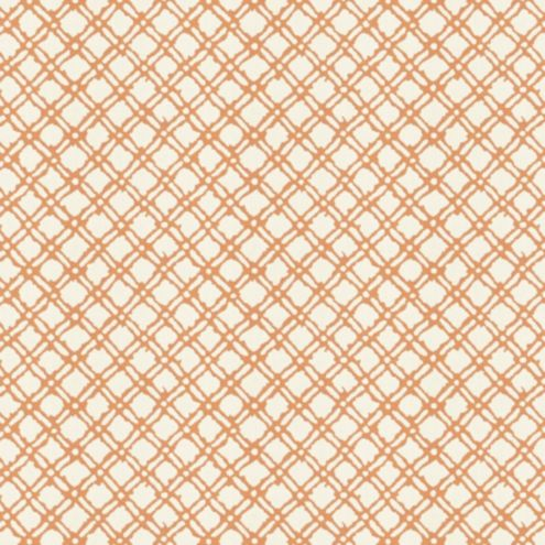 Stafford Apricot/White Sunbrella® Fabric by the Yard