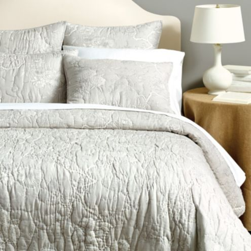 Jardin Toile Quilt | Gray