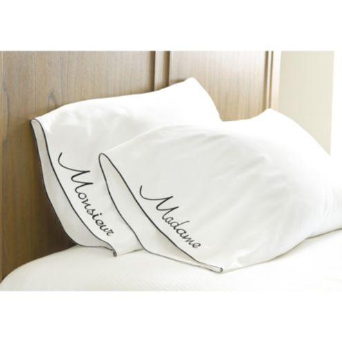 Madame & Monsieur Pillowcase Set
