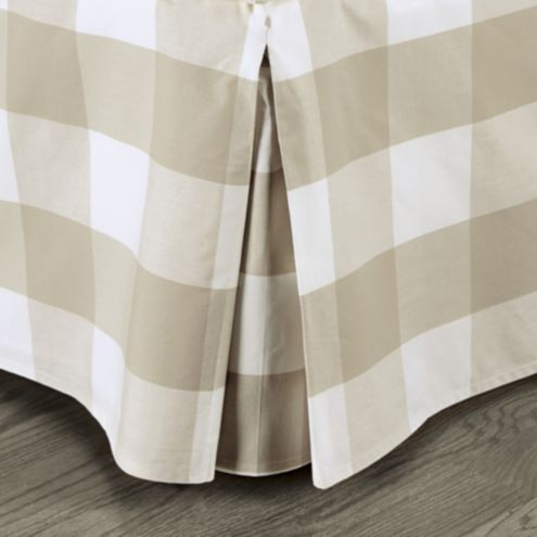 Gwyneth Buffalo Check Bedskirt