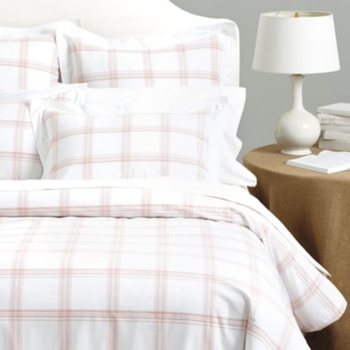 Margot Windowpane Duvet Cover