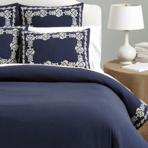 Palermo Embroidered Duvet Cover
