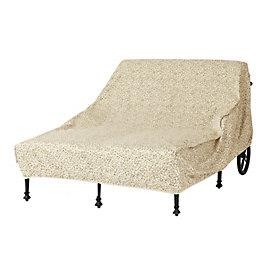 Amalfi double chaise ballard designs for Amalfi chaise lounge