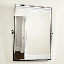 Bathroom Mirror Pivot amelie rectangular pivot mirror | ballard designs