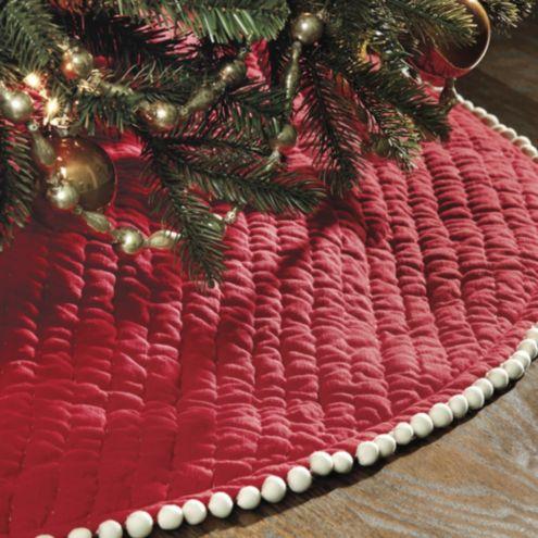 Audree Pom Pom Tree Skirt