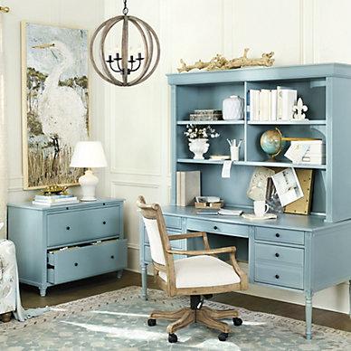 home office furniture collections ballard designs. Black Bedroom Furniture Sets. Home Design Ideas