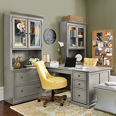 Home office furniture ballard designs for Ballard home designs