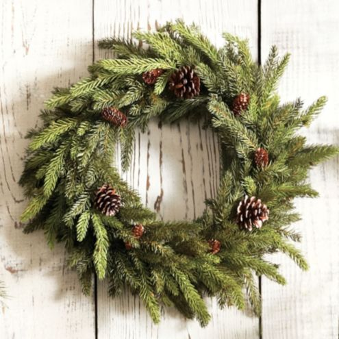 Angel Pine Wreath 24 Inch | Holiday Accessories