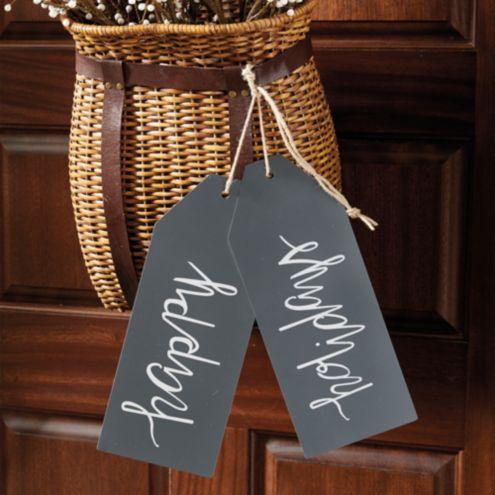 Holiday Door Tag