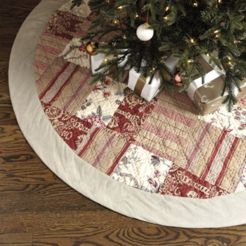 Annabel Patchwork Tree Skirt