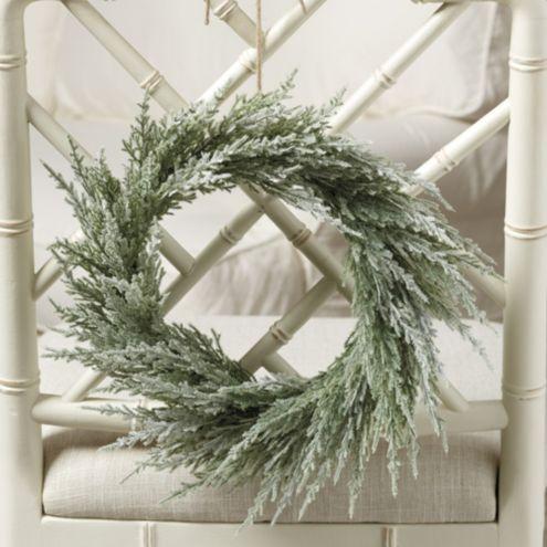 Wintry Cedar Petite Wreath
